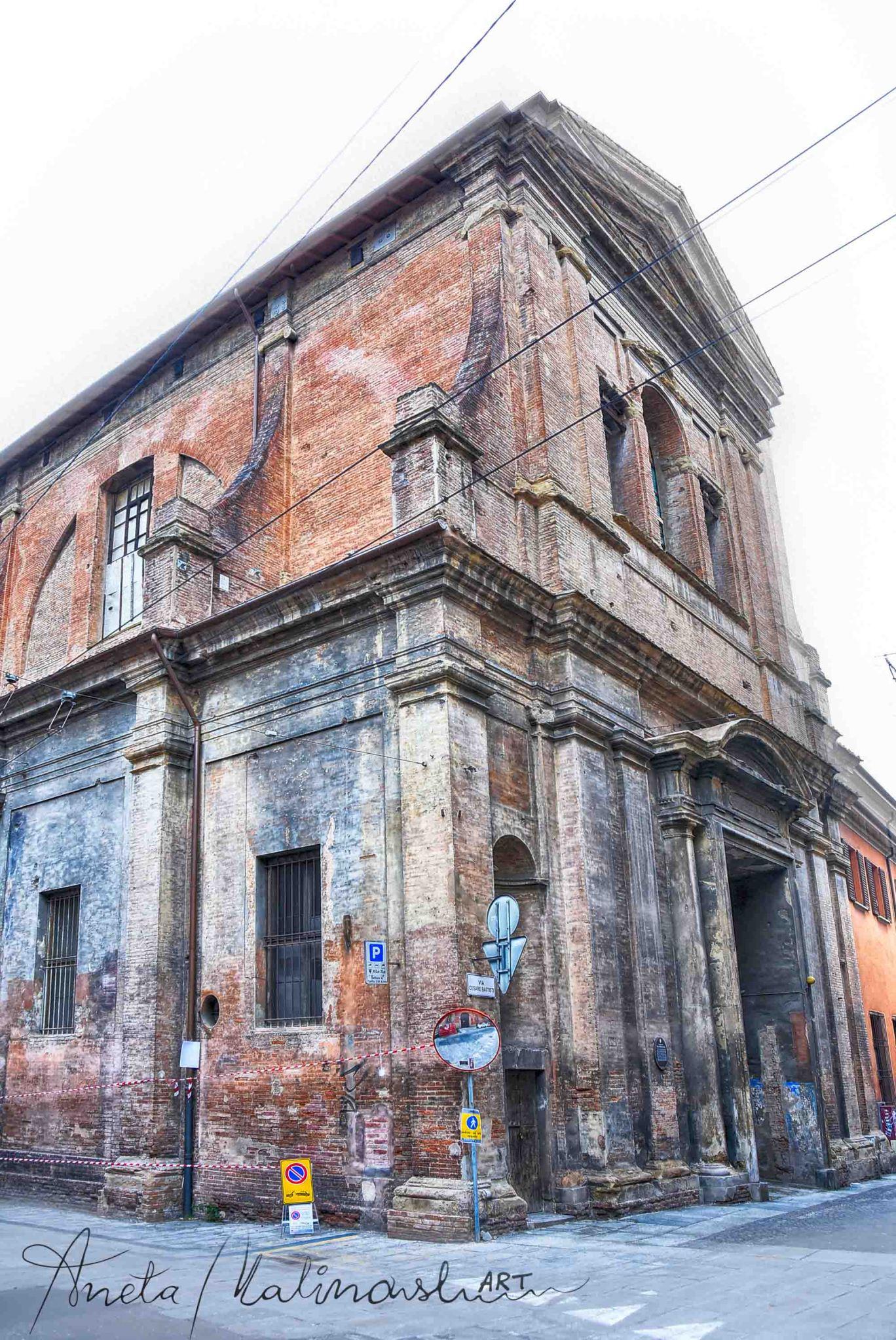 Ex Chiesa di San Barbaziano nei anni 50,60 usata come ...